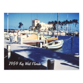 Postal retra de Key West la Florida