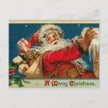 Postal retra de Santa