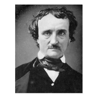 Postal Retrato 1849 del ~ de Edgar Allan Poe