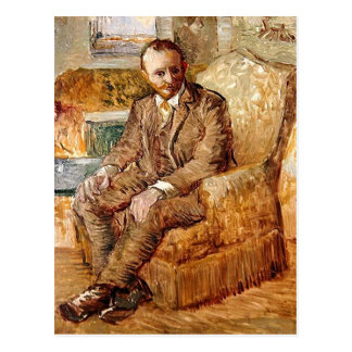 Postal Retrato de Alexander Reid, bella arte de Van Gogh