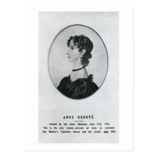 Postal Retrato de Anne Brontë