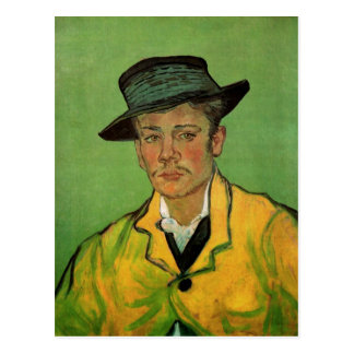 Postal Retrato de Armand Roulin de Vincent van Gogh