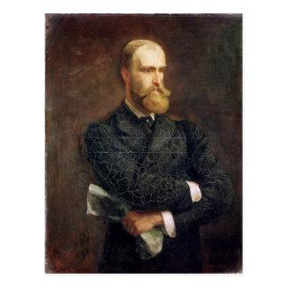 Postal Retrato de Charles Stewart Parnell 1892
