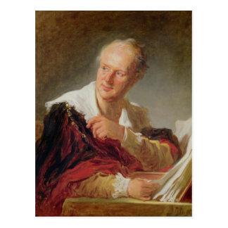 Postal Retrato de Denis Diderot c.1769