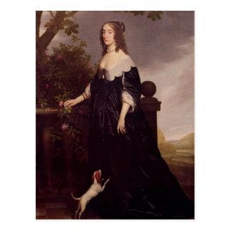 Postal Retrato de Elizabeth, reina de Bohemia