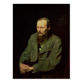 Postal Retrato de Fyodor Dostoyevsky 1872