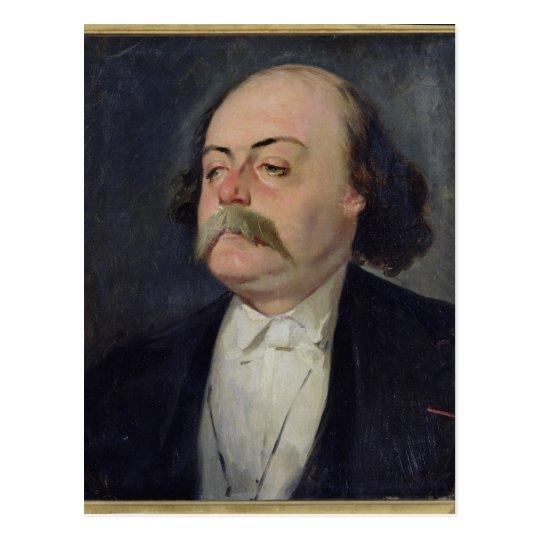 Postal Retrato de Gustave Flaubert 1868-81