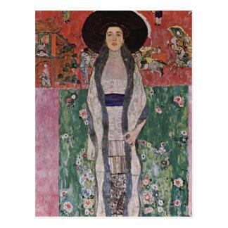 Postal Retrato de Gustavo Klimt de Adela Bloch-Bauer II