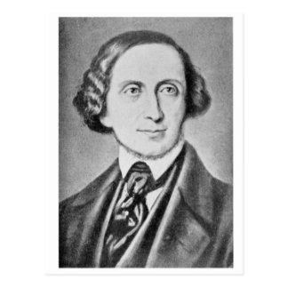Postal Retrato de Hans Christian Andersen 2