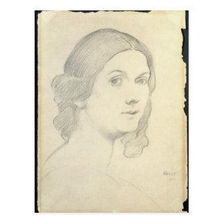 Postal Retrato de Isadora Duncan, 1908