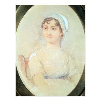 Postal Retrato de Jane Austen