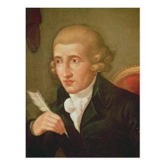 Postal Retrato de Joseph Haydn