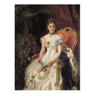 Postal Retrato de Konstantin Makovsky- de la condesa