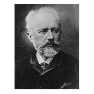 Postal Retrato de la foto de Tchaikovsky