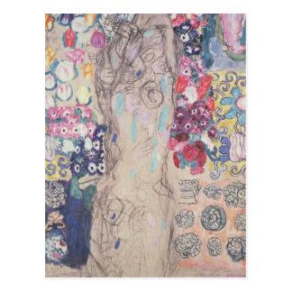 Postal Retrato de Maria Munk
