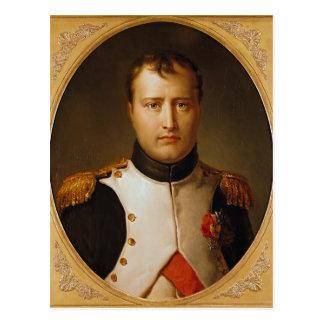 Postal Retrato de Napoleon en uniforme