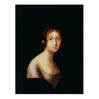 Postal Retrato de Natalia Goncharova, 1820s