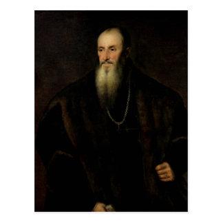 Postal Retrato de Nicolás Perrenot de Granvelle, 1548