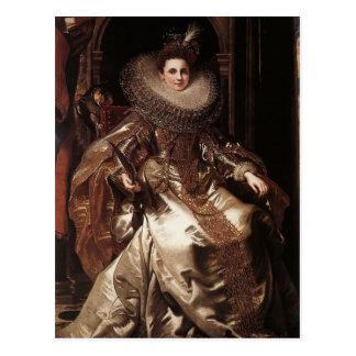Postal Retrato de Peter Rubens- de Maria Serra