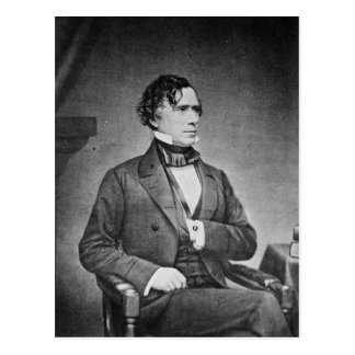 Postal Retrato de presidente Franklin Pierce por M Brady