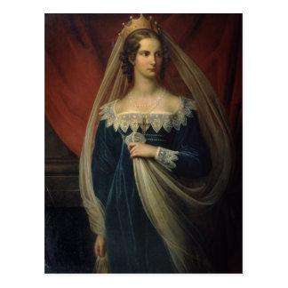 Postal Retrato de princesa Charlotte von Preussen