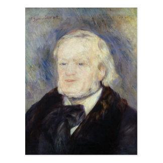 Postal Retrato de Richard Wagner 1882