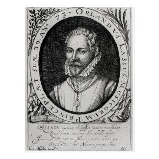 Postal Retrato de Roland de Lassus