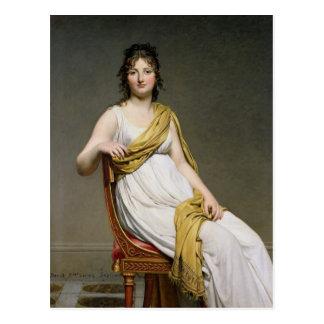 Postal Retrato de señora Raymond de Verninac 1798-99