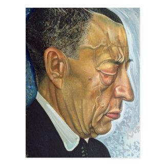 Postal Retrato de Sergey Rakhmaninov 1930