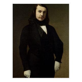 Postal Retrato de Theophile Gautier, 1839