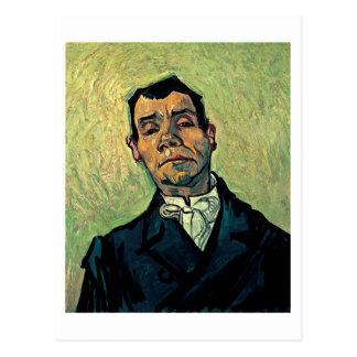 Postal Retrato de un hombre, pintura de la bella arte de