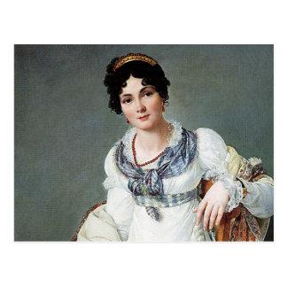 Postal Retrato de una señora