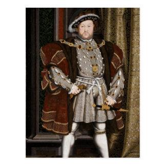 Postal Retrato del Enrique VIII