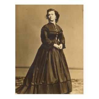 Postal Retrato del espía Paulina Cushman de la unión