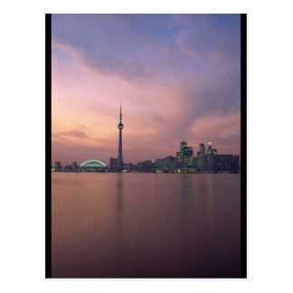 Postal Retrato del horizonte de Toronto