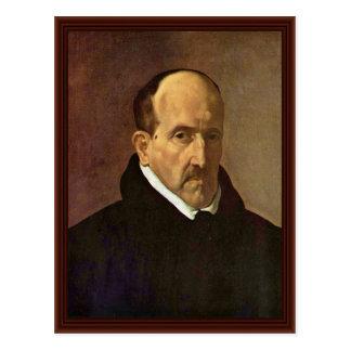 Postal Retrato del ³ Ngora Y Argote de Luis De Gã del