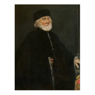 Postal Retrato del procurador Nicolo Priuli