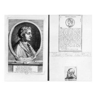 Postal Retratos de Horacio Scipio Aemilianus