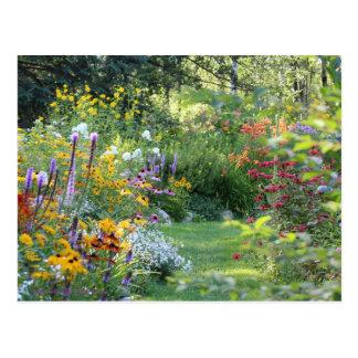 Postal Reunión de tres jardines secretos