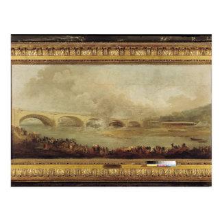 Postal Revelación del Pont de Neuilly, 1772
