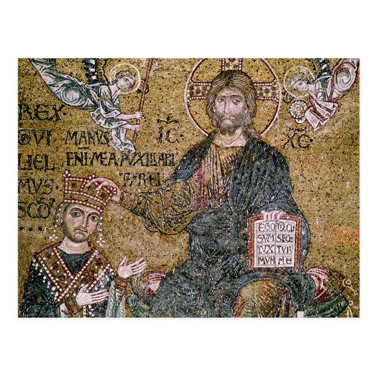 Postal Rey de Guillermo II de Sicilia