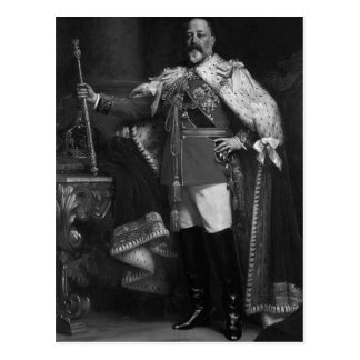 Postal Rey Edward VII