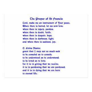 Postal Rezo de St Francis