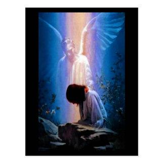 Postal Rezo del ángel