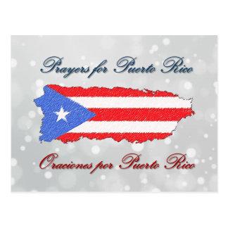 Postal Rezos para Puerto Rico