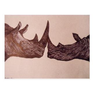 Postal Rinoceronte