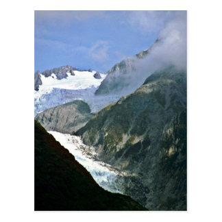 Postal Río de Waimo, glaciar de Francisco José