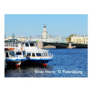 Postal Río Neva, St Petersburg