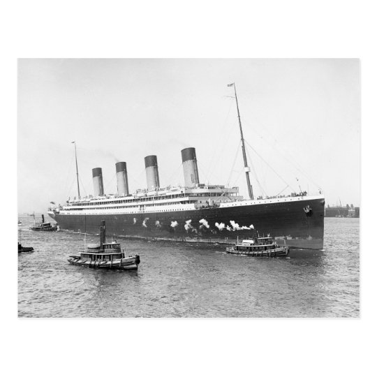 Postal RMS Olympic, 1911