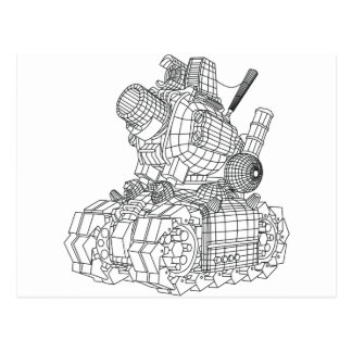 Postal robot-2